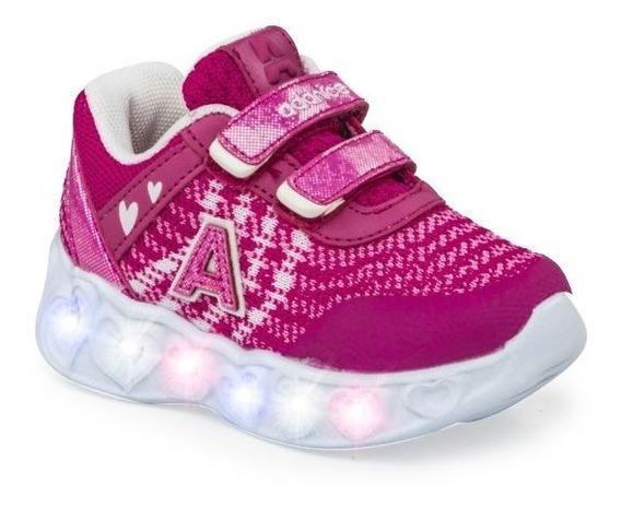 Zapatillas Addnice Bebes Abrojo ¡¡con Luz!! Envío Gratis!!