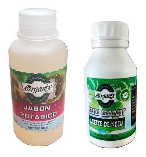 Aceite De Neem Puro + Jabon Potasico Insecticida Better Grow