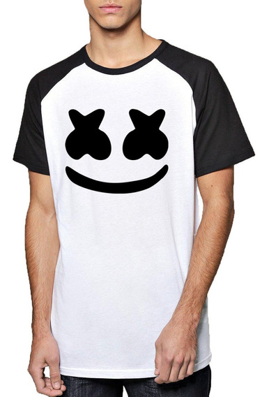 Remera Marshmello Fortnite Logo Mod1 Unisex Adulto Dj
