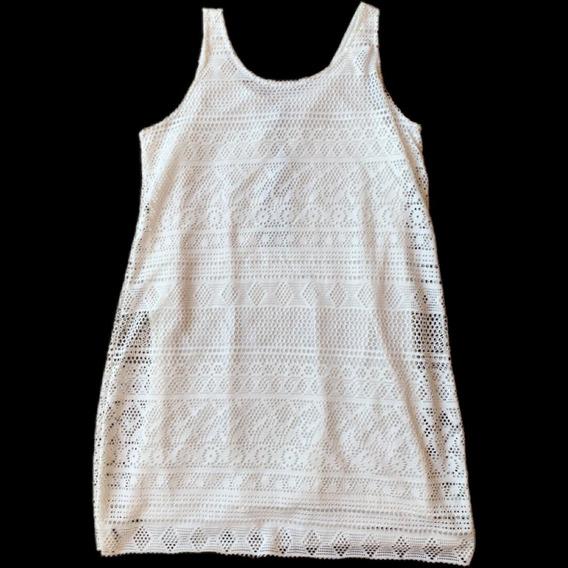 Vestido Blanco De Como Quieres Que Te Quiera. Marsella Crudo