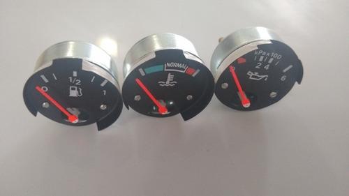 Kit 3 Peças Combustível Temperatura + Óleo Ford F100 F1000