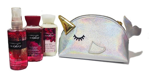 Kit Bbw Splash+crema+jabon+cosmetiquera. - g a $270