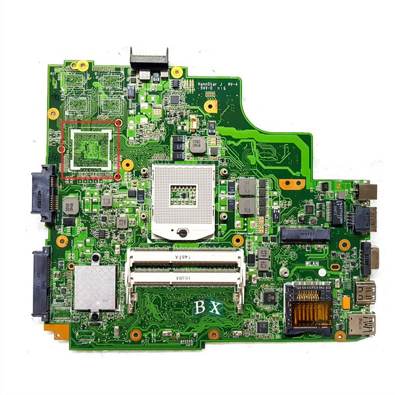 Placa Mãe Asus K43sd K43e K43s A43e Core I3 I5 I7 Hm65 Nfe