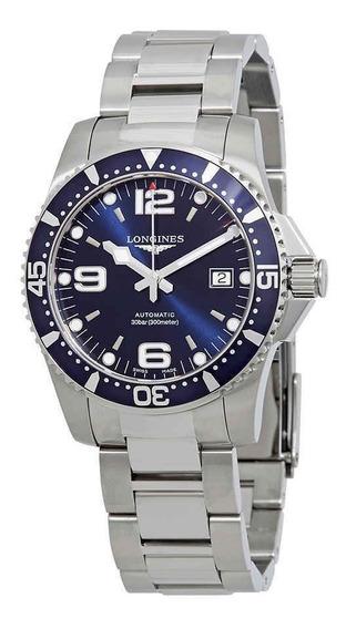 Relogio Longines Hydroconquest Automatic Blue Mod L37404966