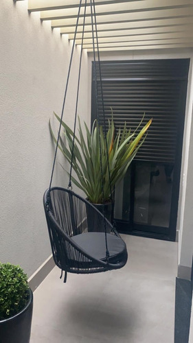 Cadeira De Balanço De Pendurar No Teto Decoração De Sacadas
