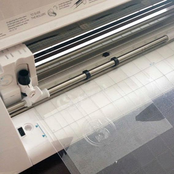 Acetato Para Silhouette Para Stencil Scrapbook Artesanato A4