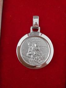 Medalha De São Miguel Arcanjo De Aço Cirúrgico