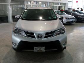 Toyota Rav4 2.5 Xle Un Dueño Factura Agencia