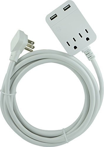 Imagen 1 de 7 de Cable De Extension De Carga Usb Ge Con Proteccion Contra S