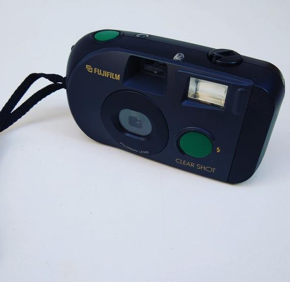 Antiga Máquina Fotográfica Fuji Film Clear Shot Fujifilm