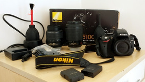 Nikon D5100 Lentes 18-55 E 55-200