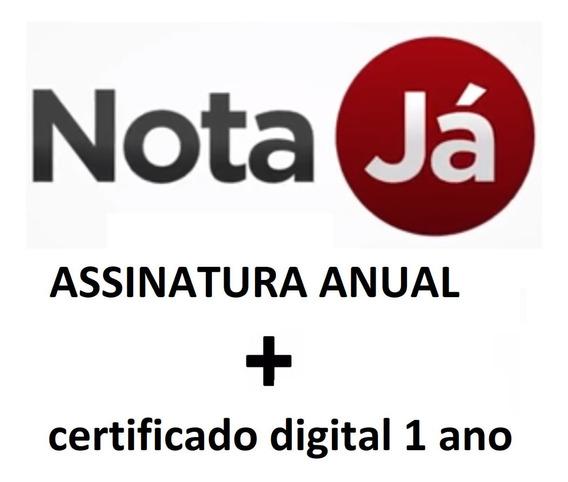Emissor De Nota Fiscal Eletrônica 4.0+cupom+certificado