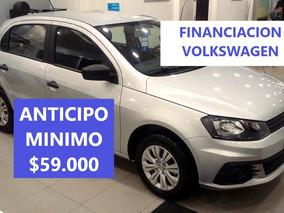 Vw Volkswagen Gol Trend 1.6 Trendline 5 Ptas My18