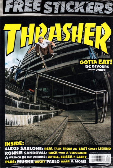 Thrasher Us - Revista De Skate