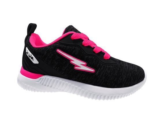 Tenis Mini-pe 04/2019 Mp1840 Preto/pink