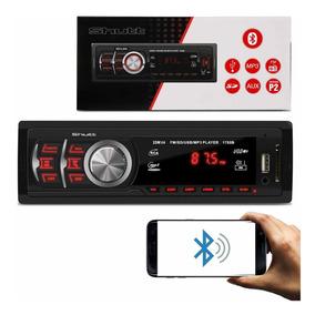 Mp3 Player Montana Bluetooth Usb Sd Rádio Fm 1 Din Shutt