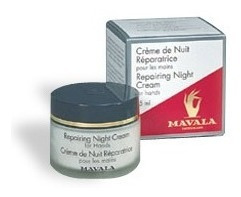 Creme Reparador Noturno Para As Mãos Mavala Repairing Night Cream 75ml
