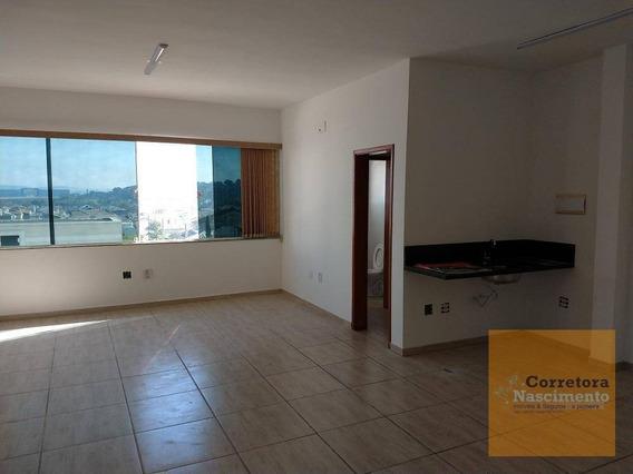 Sa0148 - Sala Para Alugar, 57 M² Por R$ 1.200/mês - Villa Branca - Jacareí/sp - Sa0148