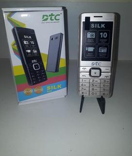Celular Simples, Tela E Visor Grande - Dtc Silk A25 - Novo