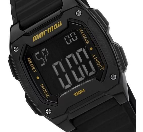Relógio Mormaii Digital 10 Atm À Prova Dágua Mo11516b 8y