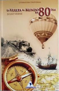 La Vuelta Al Mundo En 80 Dias Julio Verne Libro Original