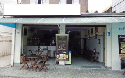Ponto Comercial Bar E Restaurante P/ Venda Na Guilhermina Em Praia Grande