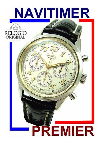Elegante Breitling Navitimer Premier Chrono Ref. A40035