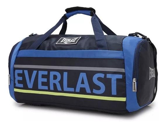 Bolso Everlast Gym Grande Deportivo Urbano Reforzado Tira De Hombro Color La Mejor Calidad! Diseño By Happy Buy