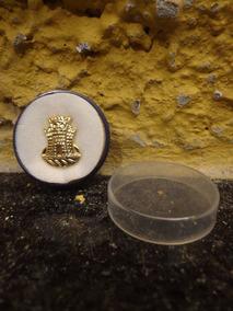 Antigo Bóton Broche Dourado - R 4458