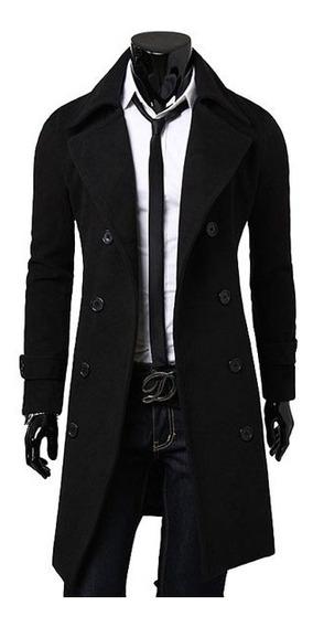 Sobretudo Casaco De Lã Masculino Importado Frete Grátis