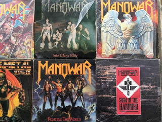 Lps Manowar - Us Metal - Demon