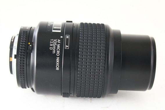 Lente Nikon 105mm Micro F2,8