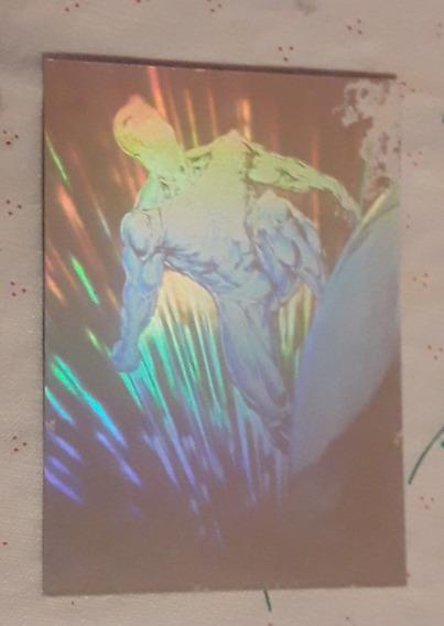 Tarjeta Carta Pepsi Cards Marvel Holograma Silversurfer