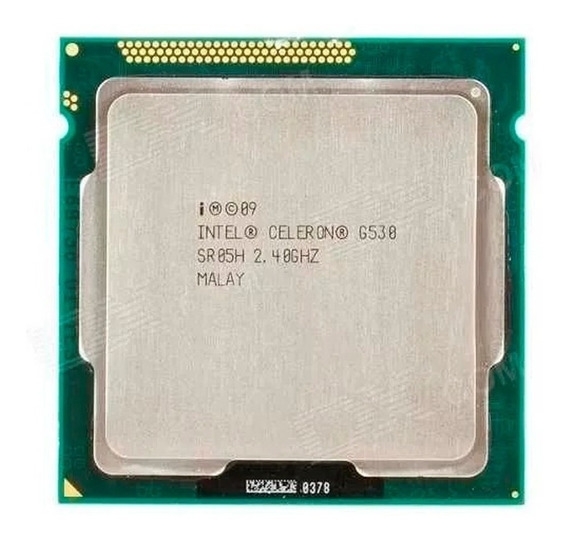 Lote 10 Processadores Celeron G530 2mb 2.4ghz Lga 1155