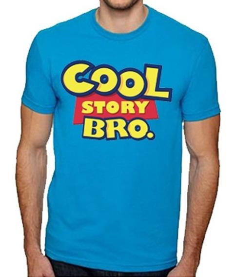 Playeras Toy Story Cool Story Bro Logo Moda Todas Tallas