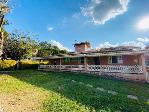 Chácara Com 4 Dormitórios Para Alugar, 2900 M² Por R$ 3.800,00/mês - Tijuco Preto - Cotia/sp - Ch0191