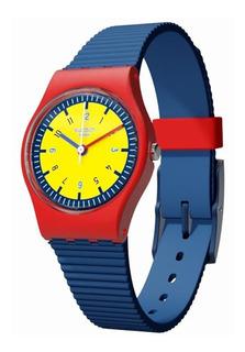 Reloj Swatch Lr131, Gtía Oficial, Envío Sin Costo. Nuevo