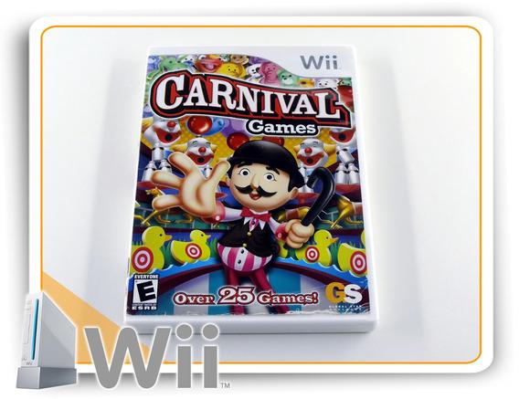 Carnival Games Original Nintendo Wii
