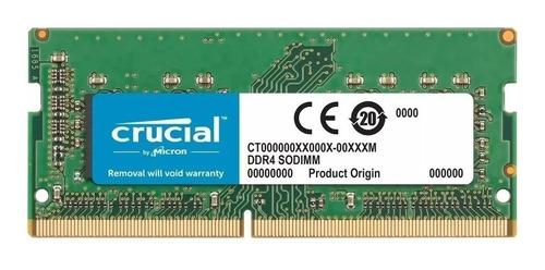 Memoria Ram 4gb 1x4gb Crucial Ct4g4sfs8266