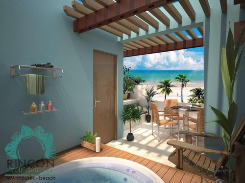 Hermoso Town House En La Playa, Chixchulub Puerto, 2 Rec Y Rofftop