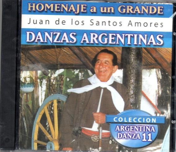 Juan De Los Santos Amores Danzas Argentinas Volumen 11