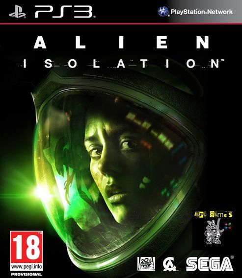 Alien Isolation Jogos Ps3 Psn Original Receba Hoje