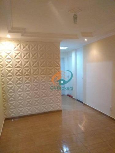 Imagem 1 de 26 de Apartamento Com 2 Dormitórios À Venda, 48 M² Por R$ 175.000,00 - Vila Izabel - Guarulhos/sp - Ap2152