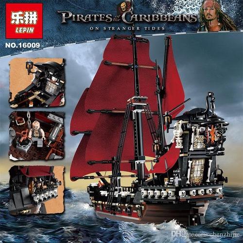 Barco Pirata Venganza De La Reina Ana Lego Compatible Disney Mercado Libre
