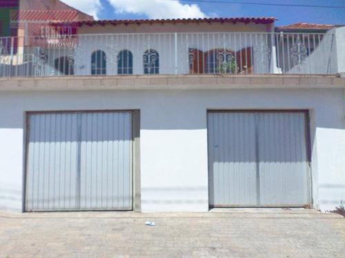 Casa Com 3 Dormitórios À Venda, 178 M² Por R$ 440.000,00 - Vila Cecília Maria - Santo André/sp - Ca0702