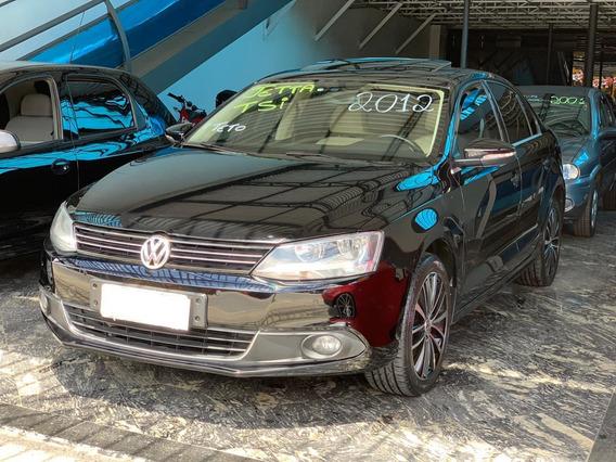 Volkswagen Jetta Tsi 2012 Preto Teto Solar