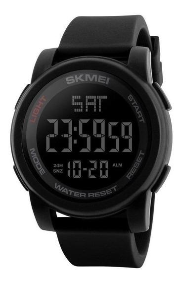 Relógio Masculino Skmei 1257 Garantia Silicone Cronometro Nf