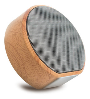 Altavoz Portátil Bluetooth De Grano De Madera Mini Altavoz