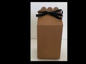 50 Caixa Milk Papel Kraft, Presente, Casamento, Lembrança