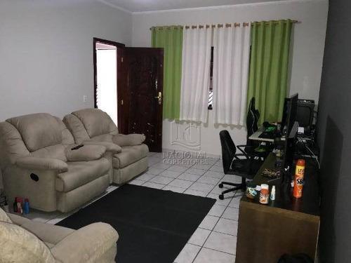 Casa Com 3 Dormitórios À Venda, 219 M² Por R$ 700.000,00 - Parque Novo Oratório - Santo André/sp - Ca3107
